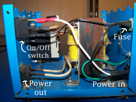 wiring diagram for pool aquabot transformer with external timer  aquabot transformer with external timer
