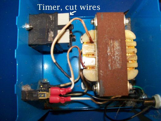 Aquabot Transformer With External Timer