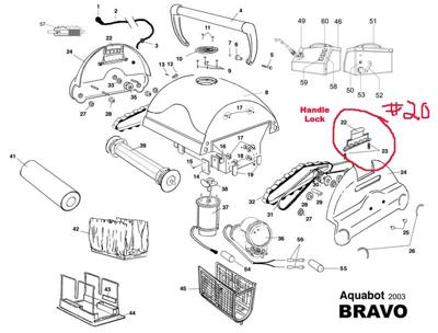 Aquabot Bravo Parts Diagram