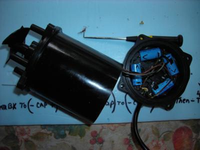 Aquabot Pump Motor Capacitor Repair