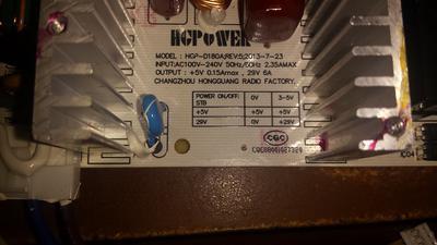 he HGPower model info