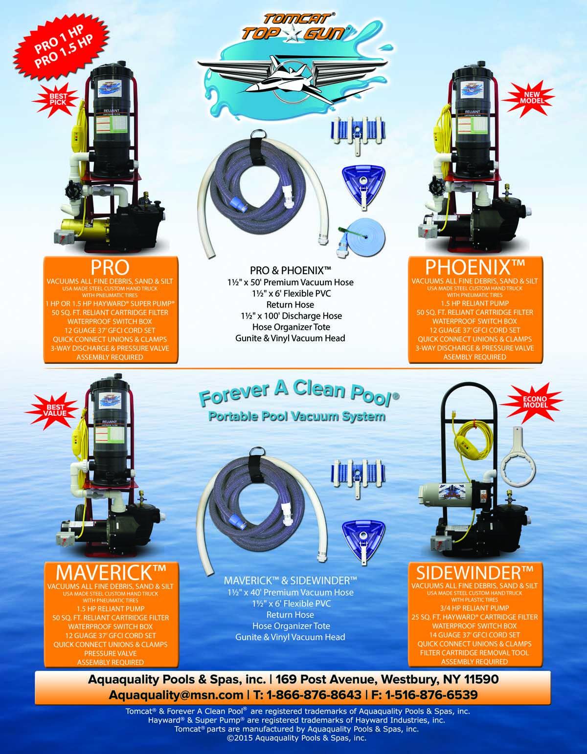 TopGun  Portable Pool Vacuum