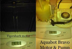 Tigershark motor Aquabot Bravo motor